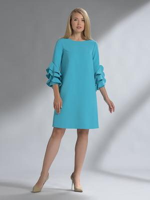 Платье бирюзовое | 5282471