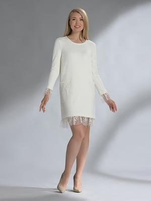 Сукня молочного кольору | 5282494