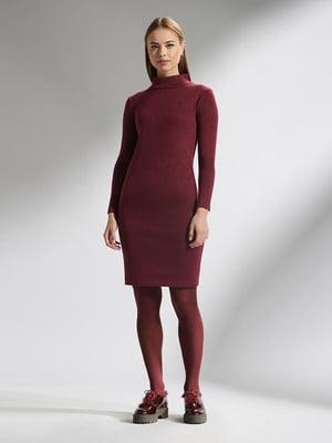 Платье бордовое | 5282501