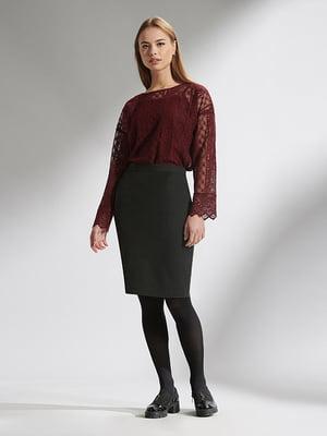 Блуза бордова | 5282505