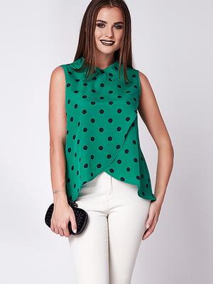 Блуза зелена | 5282057