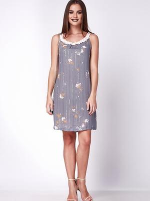 Сукня світло-сіра | 5282060