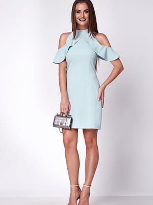 Платье бирюзовое | 5282062