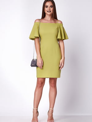 Платье салатовое | 5282070