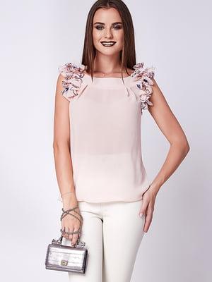 Блуза светло-розовая | 5282074