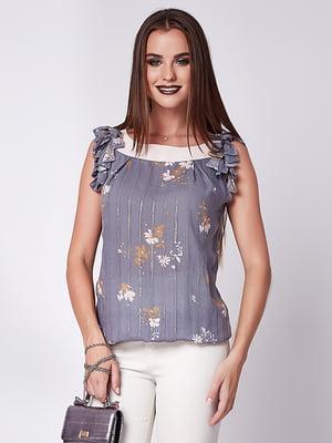 Блуза светло-серая | 5282075