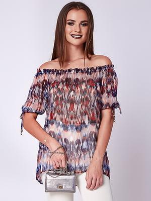 Блуза бордовая | 5282076