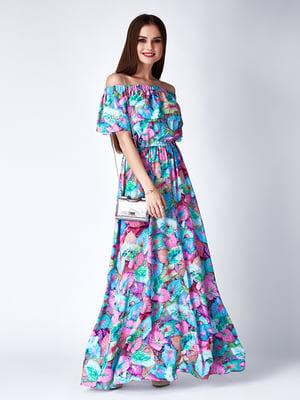 Платье зеленое | 5282320