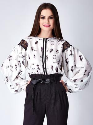 Блуза белая | 5282326