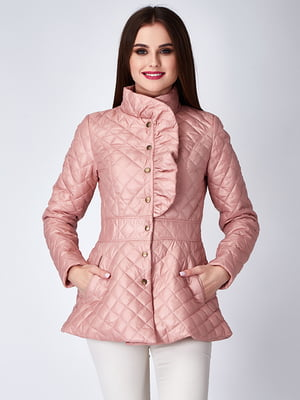Куртка пепельно-розовая | 5282328