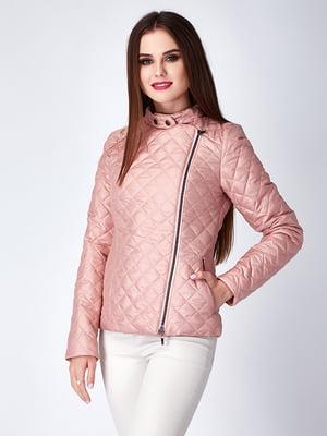 Куртка пепельно-розовая | 5282330