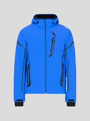 Куртка яскраво-синя лижна | 5259972