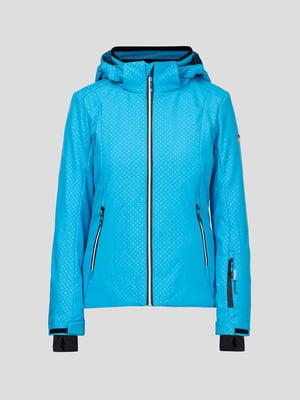 Куртка голубая лыжная | 5259980