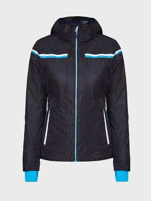 Куртка черная лыжная | 5259983