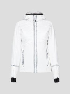 Куртка белая лыжная | 5259986