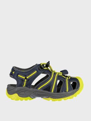 Сандалії сіро-жовті | 5260107