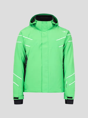 Куртка зелена лижна | 5259973