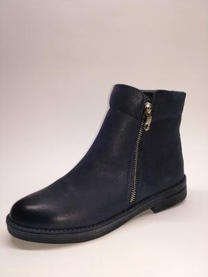 Ботинки синие   5282669