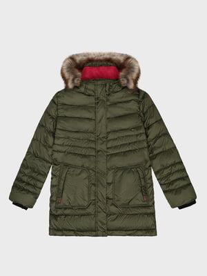 Куртка кольору хакі | 5259926