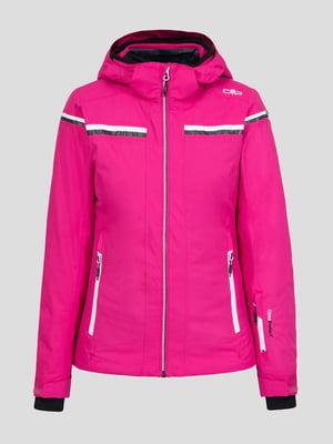 Куртка малиновая лыжная | 5259982