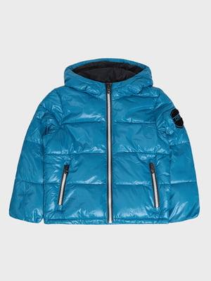 Куртка бірюзова | 5259922