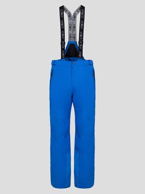 Штани яскраво-сині лижні | 5259805
