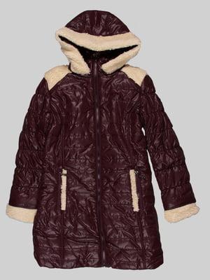 Пальто коричневе | 5282362