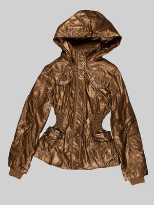 Куртка золотистого кольору | 5282392