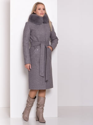 Пальто серое | 5282596
