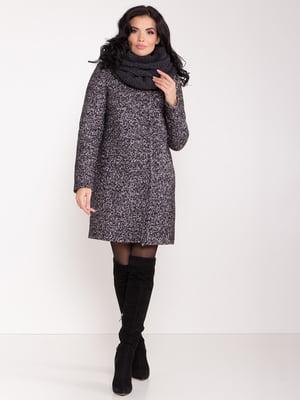 Пальто темно-серое | 5282601