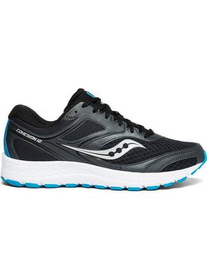 Кроссовки черно-синие | 5261013