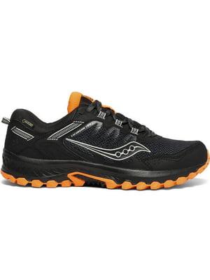Кросівки чорно-помаранчеві з логотипом EXCURSION TR13 GTX 20528-1s | 5261019