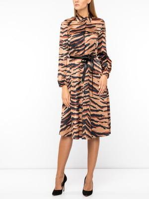 Платье в тигровый принт | 5181279