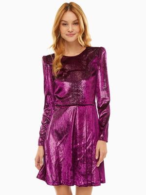 Платье фиолетовое | 5181308