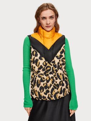 Жилет в леопардовий принт | 5228064