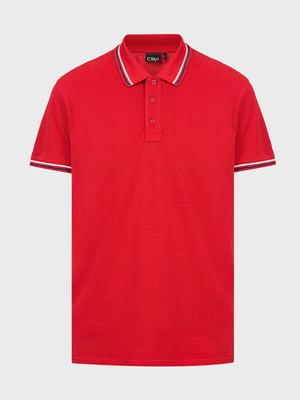 Футболка-поло червона | 5260128