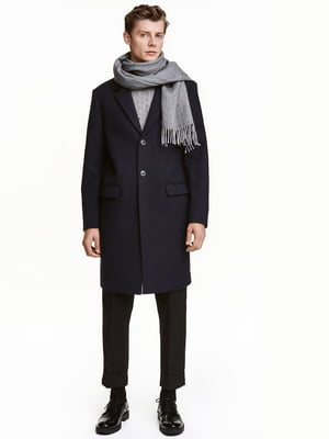 Пальто темно-синее | 5283076