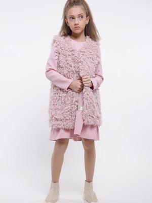 Жилет рожевий | 5283130