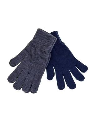 Перчатки темно-синие | 5283555