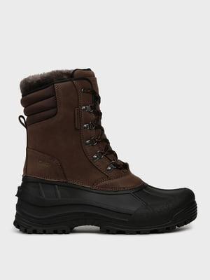 Ботинки черно-коричневые | 5259769