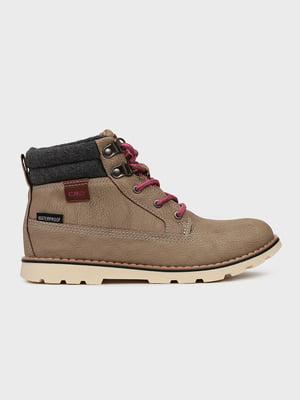 Ботинки бежевые | 5259781
