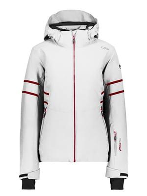 Куртка белая лыжная | 5259977