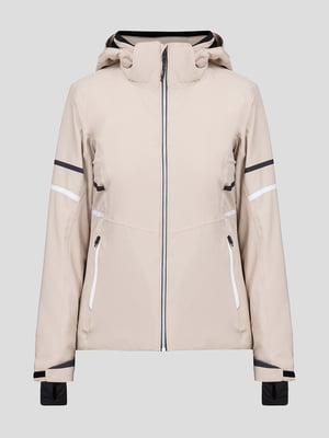 Куртка бежевая лыжная | 5259978