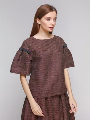 Блуза медного цвета | 5279592