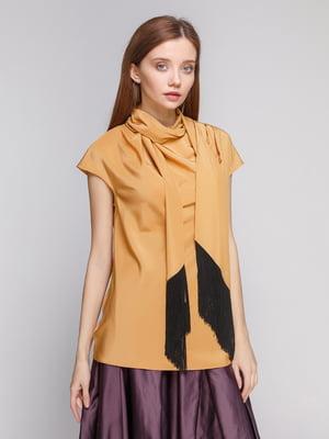 Блуза горчичного цвета | 5279581