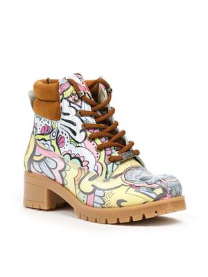 Ботинки разноцветные | 5281331