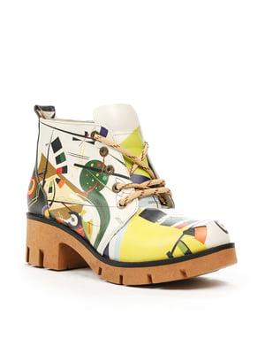 Ботинки разноцветные | 5281332
