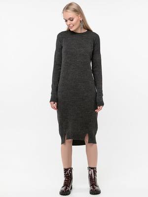 Платье темно-серое | 5284439
