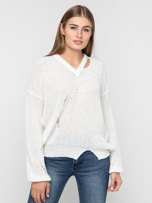 Пуловер білий | 5284432