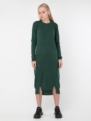Сукня темно-зелена | 5284440